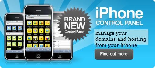 iPhone Control Panel